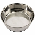 buy discount  4.5 qt. Omnipet Heavy Stainless Steel Bowl with No-Slip Rubber Ring