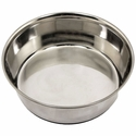 4.5 qt. Omnipet Heavy Stainless Steel Bowl with No-Slip Rubber Ring