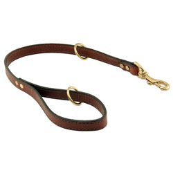 shop Omnipet Snap Lead - Leather - 2 ft. x 3/4 in.