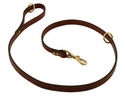 Omnipet Snap Lead - Leather - 4 ft. x 3/4 in.