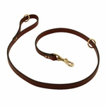shop Omnipet Snap Lead - Leather - 4 ft. x 3/4 in.