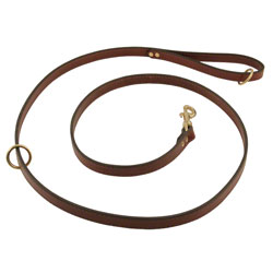shop Omnipet Snap Lead - Leather - 6 ft. x 3/4 in.