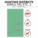 buy discount  ONXMAPS Hunt Map Districts