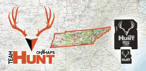 ONXMAPS Tennessee PLAT Topo Map - Micro SD