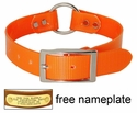 ORANGE 1 in. Day Glow Center Ring Collar