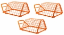 ORANGE Economy Tip Up Bird Releaser by SW Cage -- Set of 3