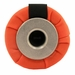 Orange Flutter Launcher Dummy with Black Streamer Bottom View