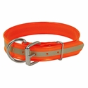 buy discount  Orange Beaded Reflective 1 1/2 in. Dee-End Collar