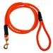 Orange Mendota Rope Snap-leash