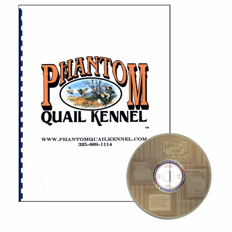 Phantom Quail Kennel Building Plans Book and Photographs CD