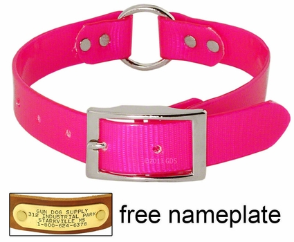 PINK 1 in. Day Glow Center Ring Collar