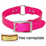 shop PINK 1 in. Day Glow Center Ring Collar