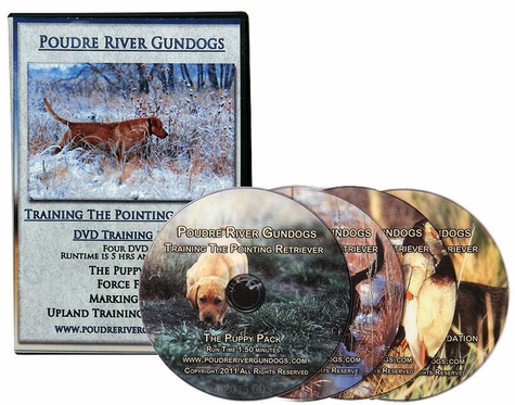 Poudre River Gundogs -- Training the Pointing Retriever with Gary Buys 4-DVD Set