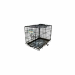shop ProValu 1000 Two Door Folding Dog Crate
