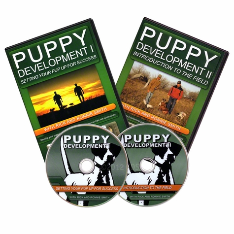 Puppy Development I and II DVDs with Rick and Ronnie Smith