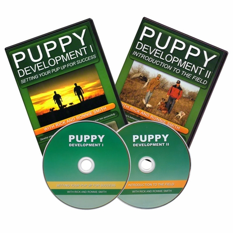 Puppy Development I and II with Rick and Ronnie Smith DVDs