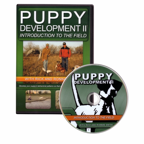 Puppy Development II: Introduction to the Field DVD with Rick and Ronnie Smith