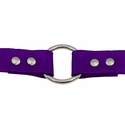 buy discount  PURPLE 1 in. Day Glow Center Ring Collar Buckle Outside
