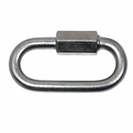 "shop 1/4"" Zinc Quick Link -- 2 1/4"" Long"