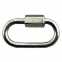"buy discount  1/8"" Zinc Quick Link -- 1 3/8"" Long"