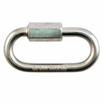 "shop 3/16"" Zinc Quick Link -- 2"" Long"