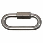 "shop 3/8"" Zinc Quick Link -- 3 1/8"" Long"