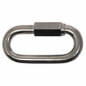 "buy discount   3/8 ""Zinc Plated Quick Link -- 3 3/8"" Long"