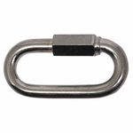 "shop  3/8 ""Zinc Plated Quick Link -- 3 3/8"" Long"