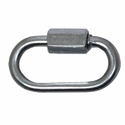 "buy discount  1/8"" Quick Link Zinc Plated -- 1 3/8"" in. Long"