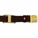buy discount  Quick Release Leather Collar Inside Clip of Buckle Detail