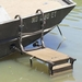 Ramp Stand in Use on Boat
