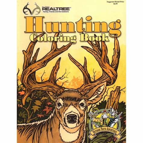 Realtree Hunting Coloring Book