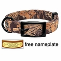 buy discount  Realtree Max 4 Camo 2-ply Nylon D-End Dog Collar