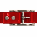 buy discount  RED 1 in. Day Glow Center Ring Collar Buckle Back