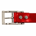 buy discount  RED 1 in. Day Glow Center Ring Collar Buckle Rivet