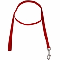 buy discount  Red 3/4 in. x 6 ft 1-Ply Nylon Leash