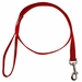 Red 3/4in. x 4ft. 1-Ply Nylon Leash