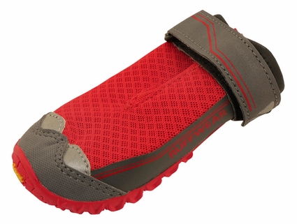 Red Grip Trex Dog Boots by Ruff Wear -- Individual Boot