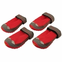 buy discount  Red Grip Trex Dog Boots by Ruff Wear -- Set of 4