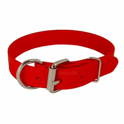RED K-9 Komfort 1 in. TufFlex Dee-End Collar