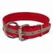 Red Beaded Reflective 1 1/2 in. Dee-End Collar