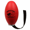 Red Plastic Launcher Dummy with Tail by Retriev-R-Trainer