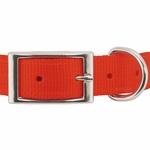 shop Reflexite Nylon Dee-End Collar Front of Buckle Detail