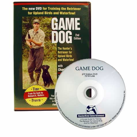 Richard Wolters' GAME DOG DVD with Charlie Jurney