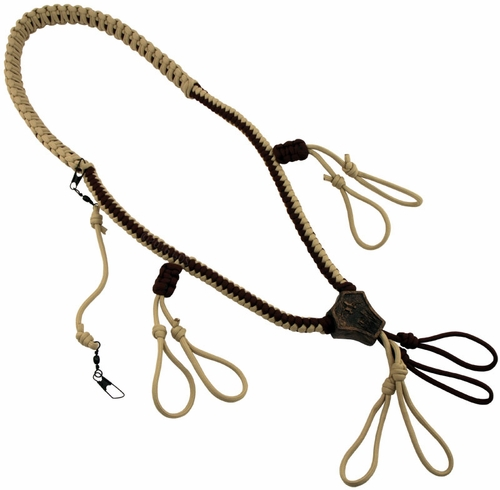 Rig 'Em Right Copperhead Deluxe 4-Call Lanyard