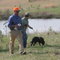 buy discount  Ronnie and Attendee working with Live Birds for Retrieves