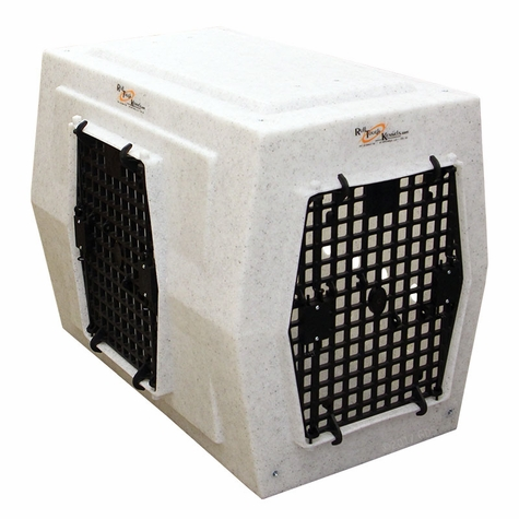 Ruff Tough Kennels Large Left-Side Entry Double Door Dog Crate