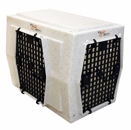 Ruff Tough Kennels Intermediate Left-Side Entry Double Door Dog Crate