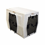 shop Ruff Tough Kennels Intermediate Left-Side Entry Double Door Dog Crate