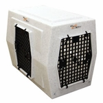 shop Ruff Tough Kennels Large Left-Side Entry Double Door Dog Crate